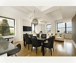 FINANCIAL DISTRICT CONDOS AND APARTMENTS FOR SALE: 3 Bedroom Triplex Penthouse