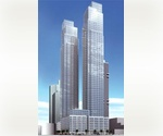 Brand New Luxury Highrise, The Silver Towers, Highend 2 Bedroom 2 Bathroom Unit with Spectacular Views, Washer and Dryer, No Fee
